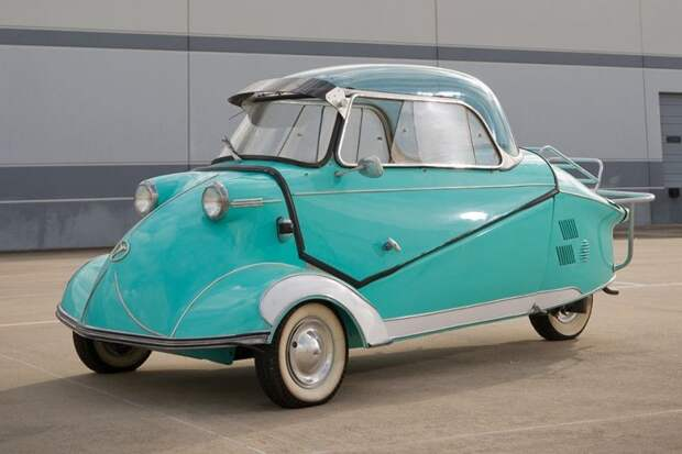 Messerschmitt KR175/200 авто, автодизайн, автомобили, аэродинамика, дизайн, обтекаемость, самолет