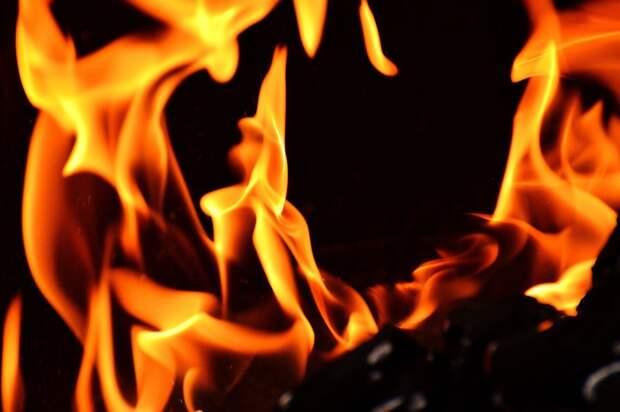 В Удмуртии при пожаре погибла пожилая женщина