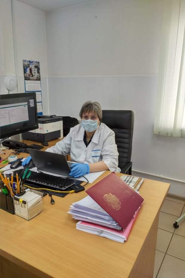 Главный врач поликлиники №219 Ирина Трасковецкая/Из личного архива
