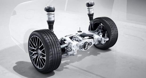 Новый Mercedes-Benz GLC получит подруливающую заднюю ось