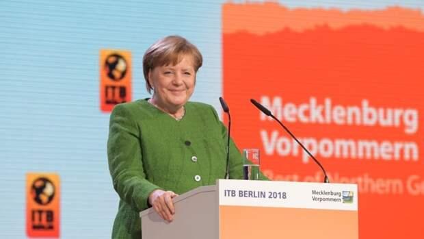 Меркель указала на историческую и экономическую связь России и Германии