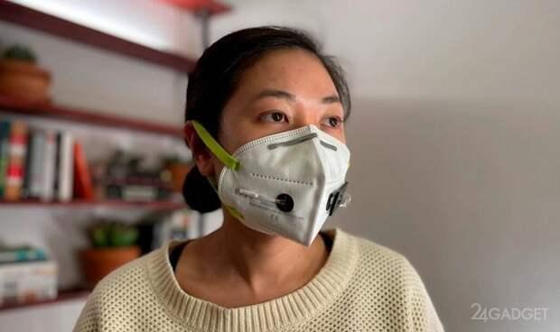 Защитная маска будет выявлять коронавирус во вдыхаемом воздухе