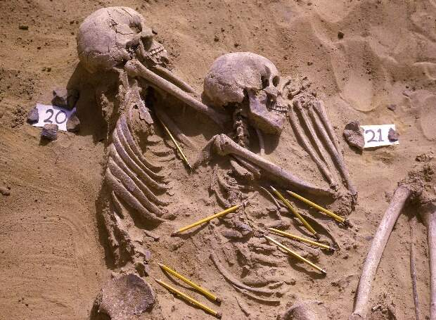 Могильник Джебель Сахаба возник из-за серии вооруженных конфликтов более 13 тысяч лет назад