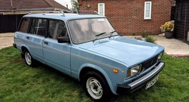Праворульный ВАЗ-2104 продаётся в Великобритании