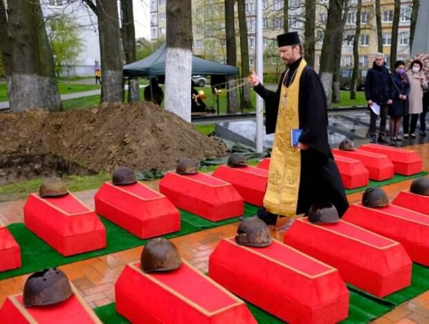86 бойцов, штурмовавших Кенигсберг, упокоились с воинскими почестями