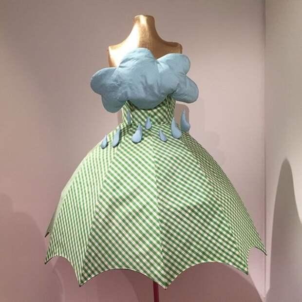 Платье - зонтик