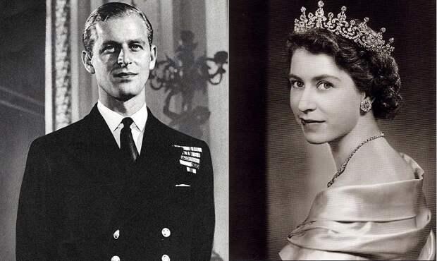 Принц Филипп, герцог Эдинбургский и королева Елизавета II.   Фото: ilarge.lisimg.com.