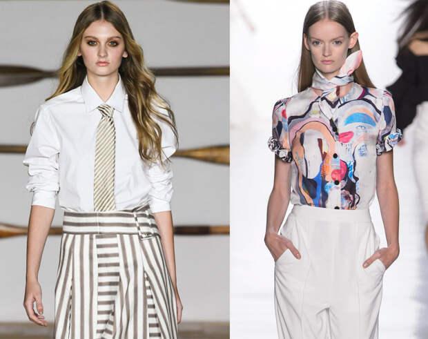 Модные тенденции 2018: блузы и рубашки