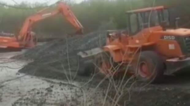Прорыва дамбы нареке Терек опасаются жители станицы вКабардино-Балкарии