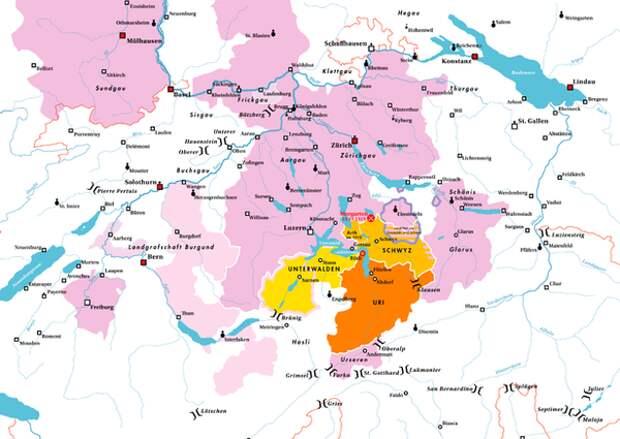 Крестьянские республики в Средневековье (и такое было!)