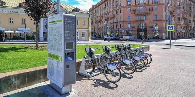 Депутат Бускин: сейчас в Москве работают 570 станций велопроката