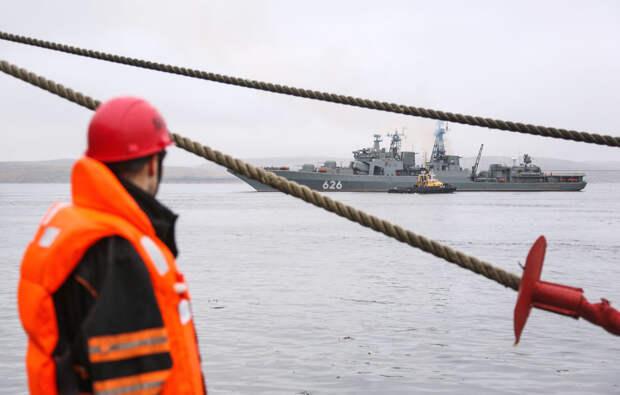 Ажиотаж вокруг Севморпути. Иностранные суда в очереди за ледокольной проводкой России