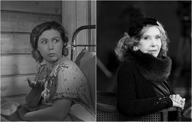 Знаменитая советская и российская киноактриса, народная артистка СССР, наиболее значительными работами являются картины «Молодая гвардия», «Высота» и «Девчата».