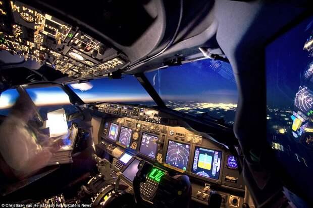 Потрясающие фотографии, сделанные из кабины авиалайнера
