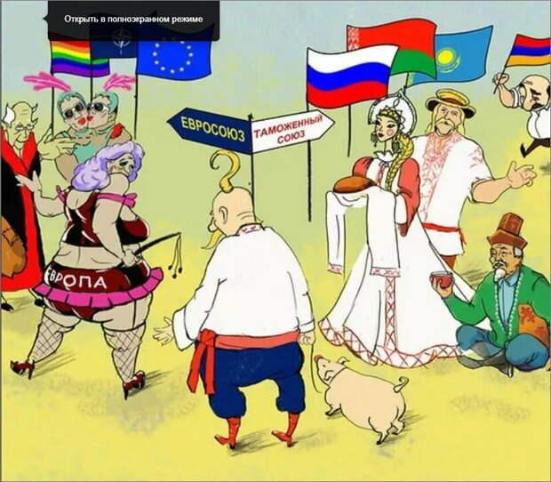 Картинка сайта: zen.yandex.ru. Украина на распутье