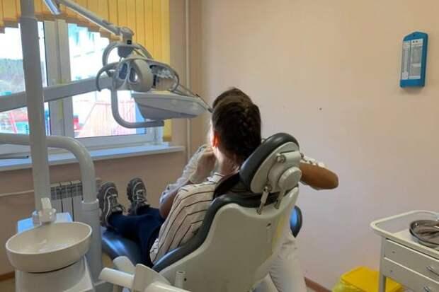 В сельской школе Углезаводска появился стоматологический кабинет по поручению губернатора