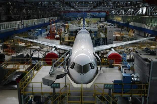 НаИркутском авиазаводе запущен новый цех окончательной сборки МС-21