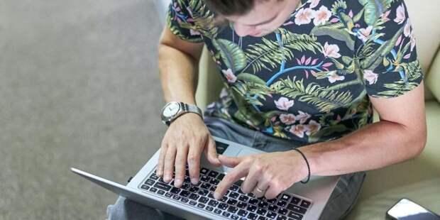 Заявку на участие в онлайн-голосовании на выборах в Госдуму подали 150 тыс москвичей Фото: М. Денисов mos.ru