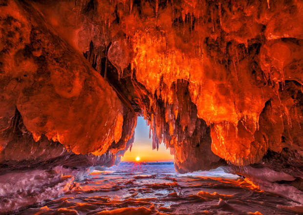 Ледяное царство Ольхонских островов