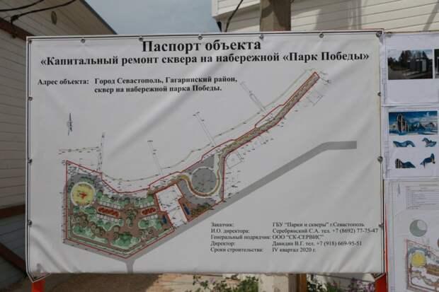 Набережную парка Победы закроют на реконструкцию