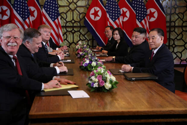Ким – Трамп: я знаю, что ты знаешь, что я знаю