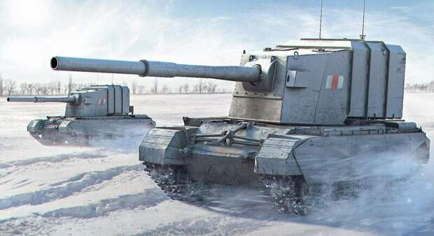 Топ-5 самых шизоидных британских бронемонстров Второй мировой бронетехника, война, вторая мирова война, оружие, приколы, танки