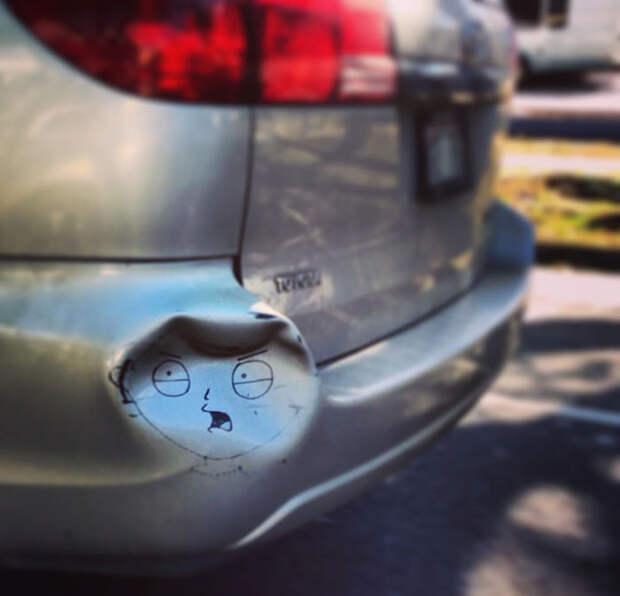 18 раз, когда кто-то творчески подошёл к ремонту автомобиля