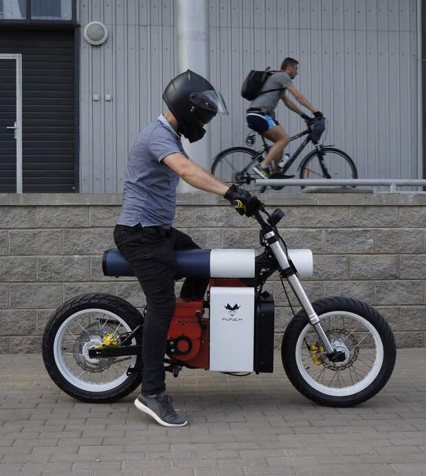 Фото №2 - «Панч»— мотоцикл нового поколения, созданный в России и Белоруссии