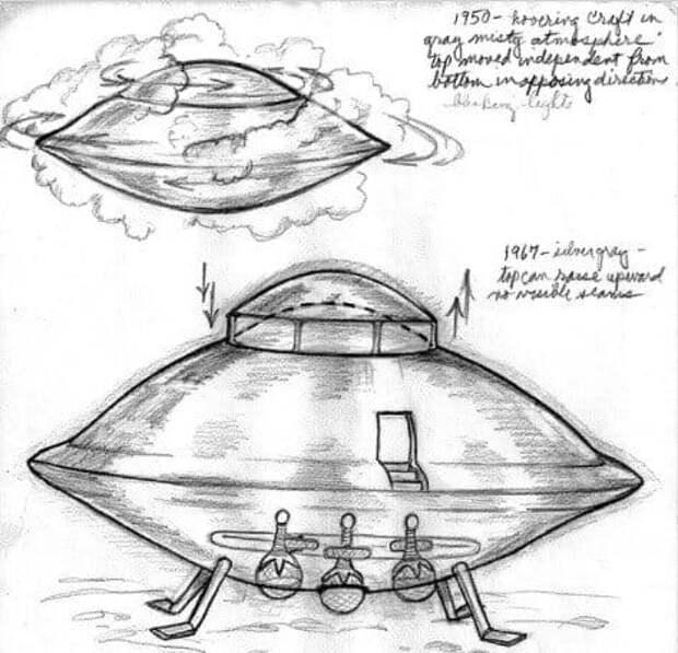 Бетти Андреассон: НЛО, подводная база и люди в стеклянном контейнере