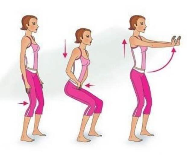 """alt=""""Комплекс упражнений на растяжку для желающих похудеть."""""""