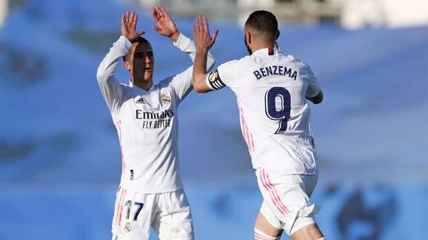 «Реал» победил «Эйбар» и поднялся на 2-е место в Ла Лиге