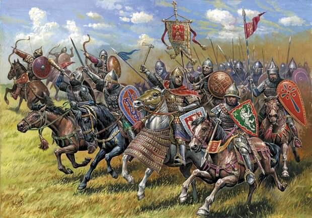 11 августа 1378 года состоялась битва на реке Воже - сражение между русской ратью под командованием Дмитрия Донского и войском Золотой Орды под командованием мурзы Бегича