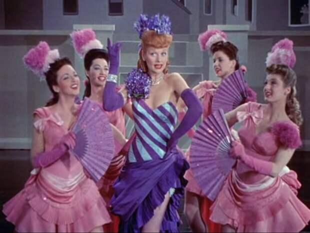 """Музыкальный номер """"Continental Polka"""" из фильма """"Легко жениться"""" (1946)."""