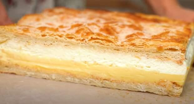 Наполеон или Карпатка? Торт Кремовка  для ленивых любителей торта Наполеон