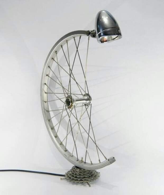 Что сделать из велосипедных колёс