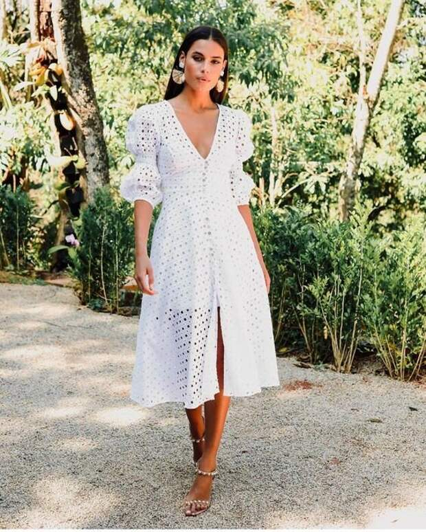 Белое платье: Летние образы на все случаи жизни