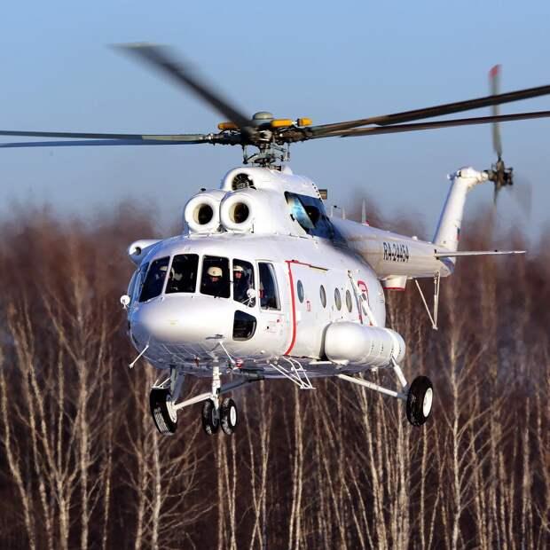Ростех поставил ГТЛК вертолеты Ми-8МТВ-1 и «Ансат»