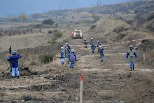 Российский офицер погиб при разминировании в Нагорном Карабахе