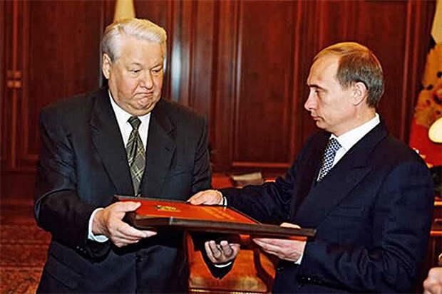 Не Ленин вовсе, а Ельцин заложил мину под Путина!