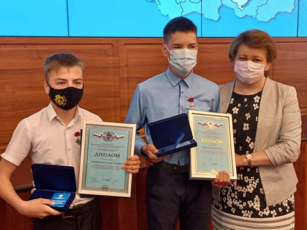 Двое школьников из Слюдянки получили награду «Горячее сердце» за спасение утопающего