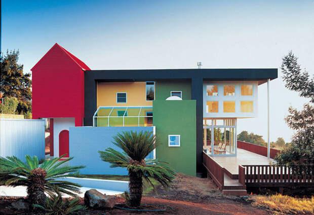 Дом для дизайнера Эдриана Олабуенаги и его жены Лесли Бейли на Гавайях.