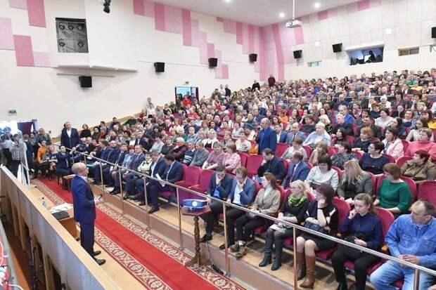 Глава Удмуртии обсудил с жителями Можги поправки в Конституцию