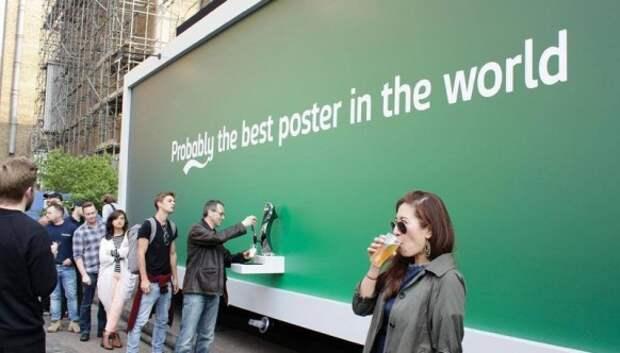 20 крутых рекламных щитов, от которых не отвести глаз