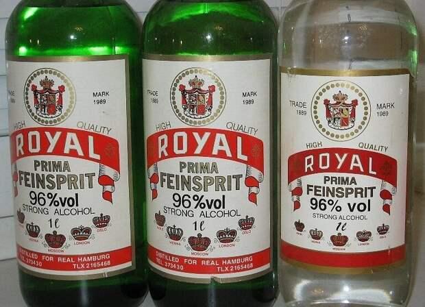 Голландский спирт для чистки оптики на ура употреблялся в России вовнутрь