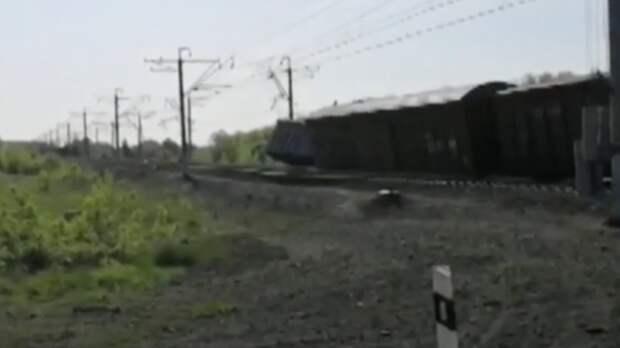 По факту схода вагонов с рельсов в Самарской области возбуждено дело
