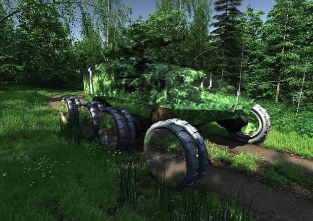 Электрический танк: перспективы применения электродвижения в наземной боевой технике