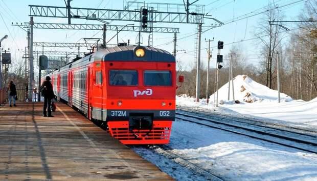 Московская железная дорога перешла на усиленный режим работы из‑за снегопада