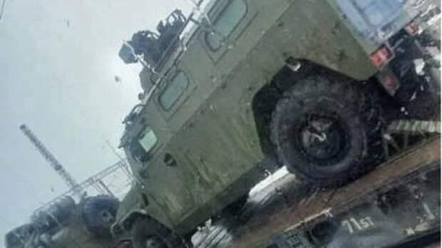 Ростовчан попросили непаниковать из-за огромных колонн военной техники