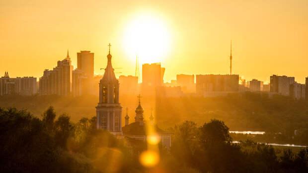 В Москве во вторник ожидается до +22°С