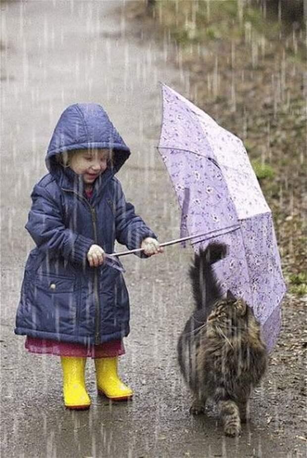Эти фотографии детей и животных тронут вас за душу…